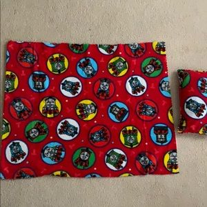 Thomas Train - Baby/Toddler fleece cuddle blanket